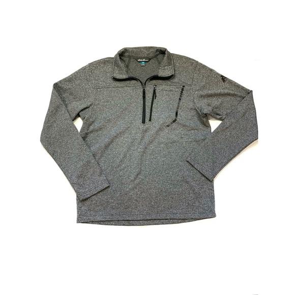 Eddie Bauer First Ascent 1/4 Zip Pullover Sweater